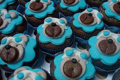 Cupcakes Personalizados de Ursinho
