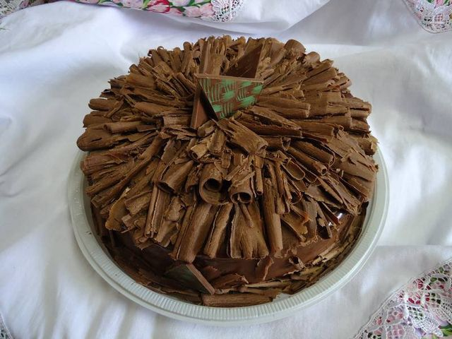 Bolo de Chocolate Decorado