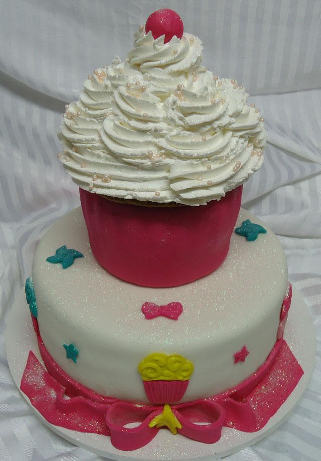 Bolo Cupcake de Pasta Americana