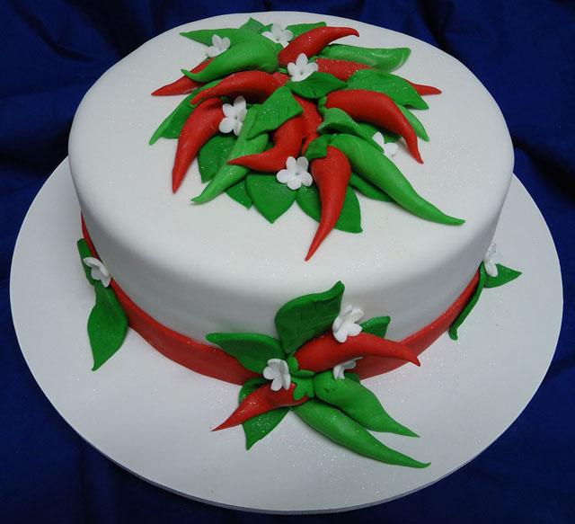 Bolo Temático Festa Mexicana
