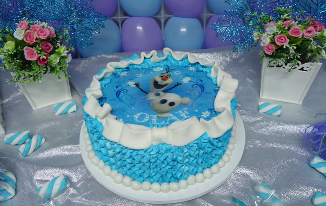 Bolo Frozen – Olaf