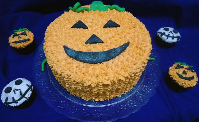 Bolos e Cupcakes Halloween