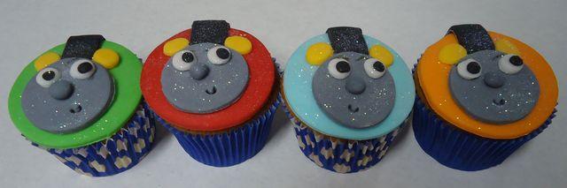 Cupcakes Thomas e Seus Amigos