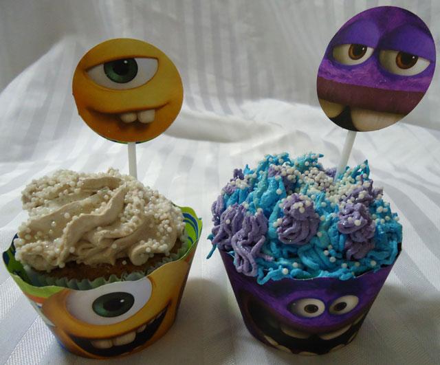 Cupcakes Universidade Monstros