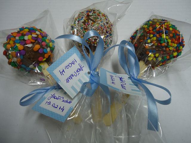 Cake Pops - Bolos no Palito