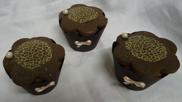 Cupcakes Decorados Chá de Lingerie