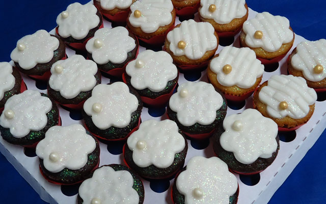 Cupcakes do evento Schutz Day