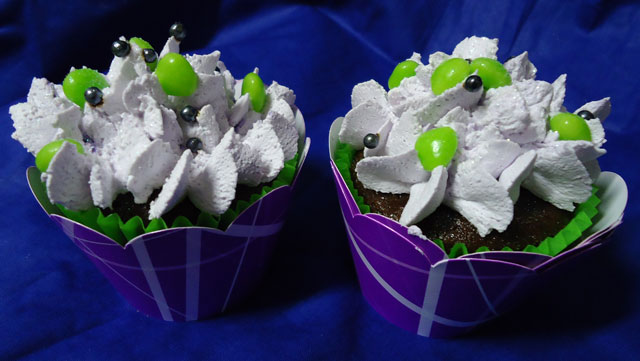 Cupcakes Malévola