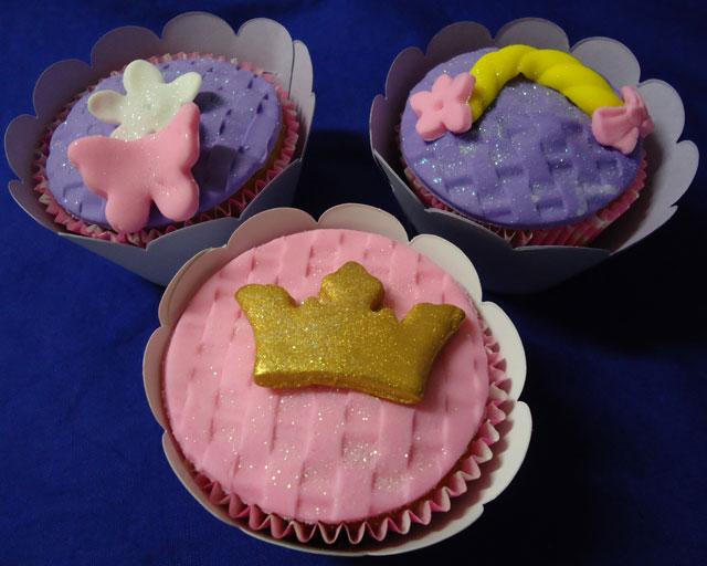 Cupcakes Tema Princesa