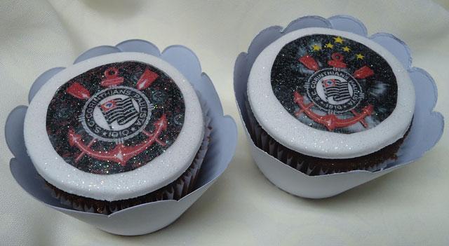 Cupcakes do Corinthians