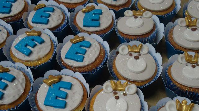 Cupcakes Decorados - Ursinhos