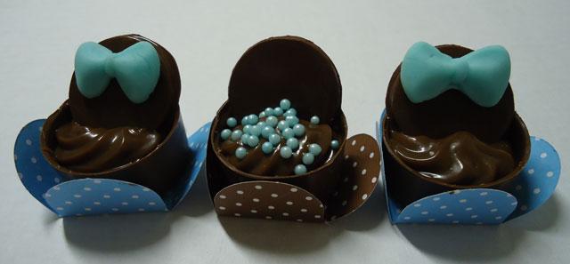 Caixinha de Chocolate com Brigadeiro