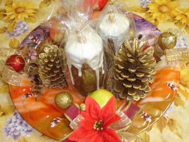 Pão de Mel em Formato de Vela - Natal