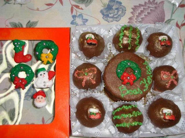 Pão de Mel e Trufas de Natal