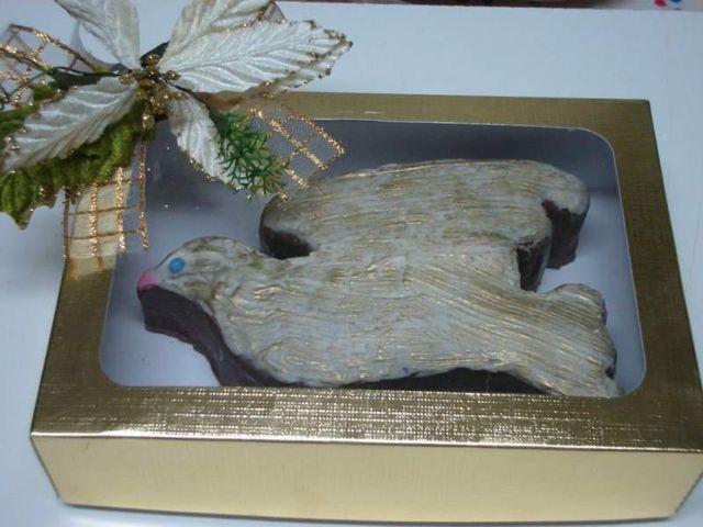 Pomba de Pão de Mel - Natal