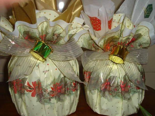 Panetone Caseiro Trufado ou Tradicional - Natal