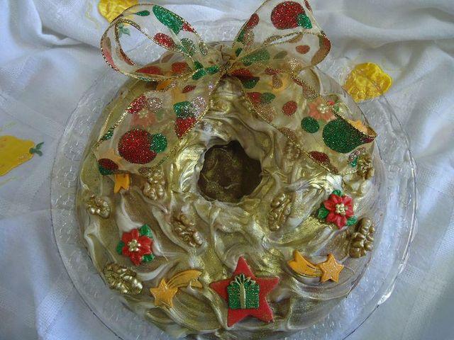Guirlanda de Pão de Mel - Natal